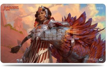 Ixalan Playmat Huatli, Warrior Poet