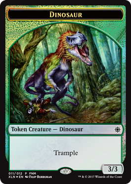 FNM Dinosaur Token
