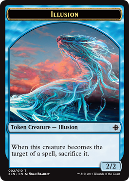 Ixalan tokens - Illusion token