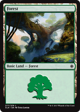 Ixalan Land Forest