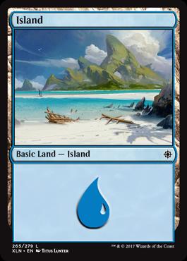 Ixalan Land Island