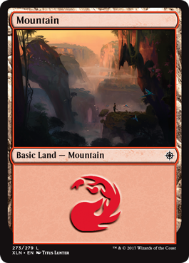 Ixalan Land Mountain