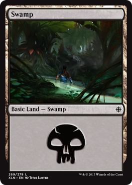 Ixalan Land Swamp