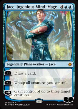 Ixalan Planeswalker Deck promo - Jace, Ingenious Mind-Mage