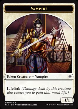 Ixalan tokens - Vampire token
