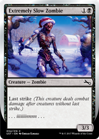 Extremely Slow Zombie Winter