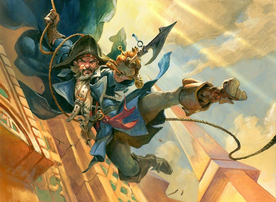 Obrázek z Magicové karty Deadeye Brawler