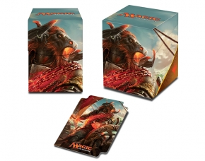 Rivals of Ixalan Deck Box Angrath, the Flame-Chained