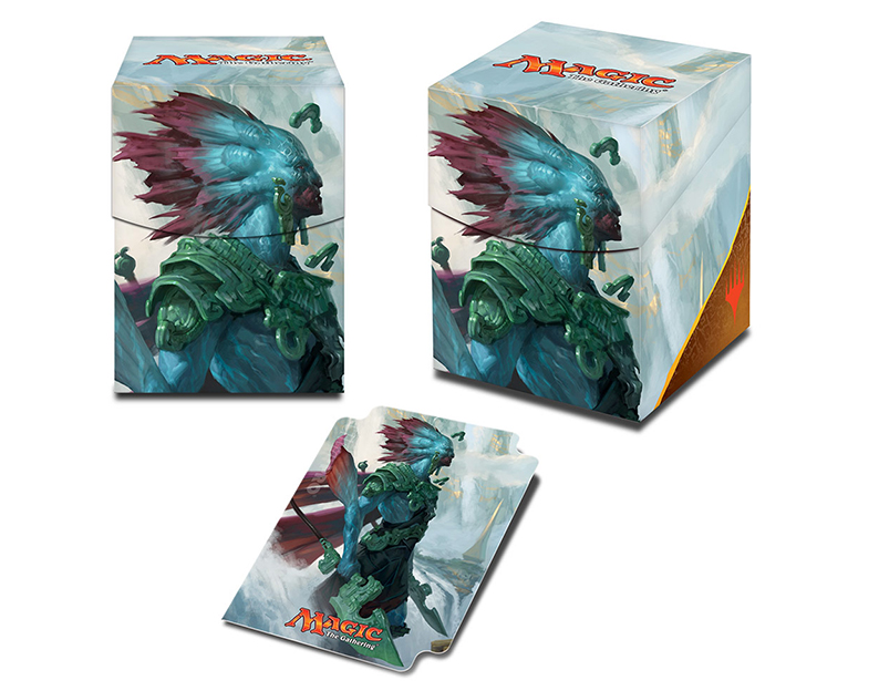 Rivals of Ixalan Deck Box Kumena, Tyrant of Orazca