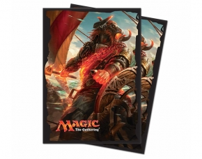 Rivals of Ixalan Sleeves Angrath, the Flame-Chained