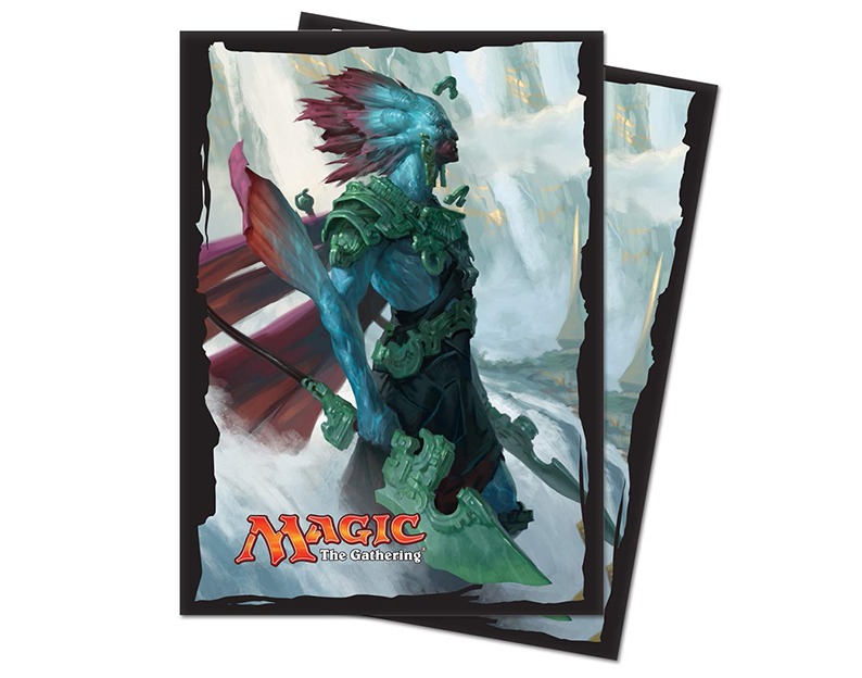 Rivals of Ixalan Sleeves Kumena, Tyrant of Orazca