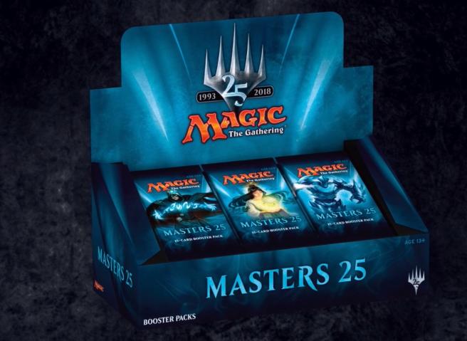 Masters 25 display
