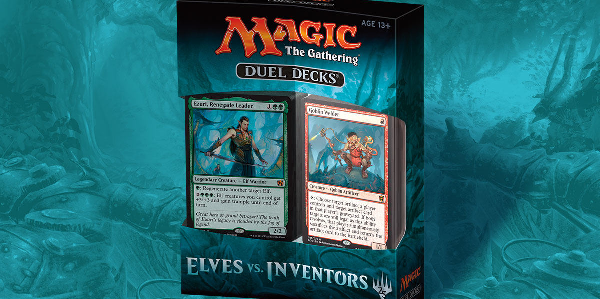 Duel Decks: Elves vs. Inventors balení