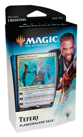 Magic the Gathering Dominaria Planeswalker Deck: Teferi, Timebender
