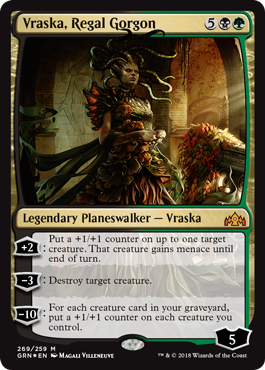 Vraska Regal Gorgon