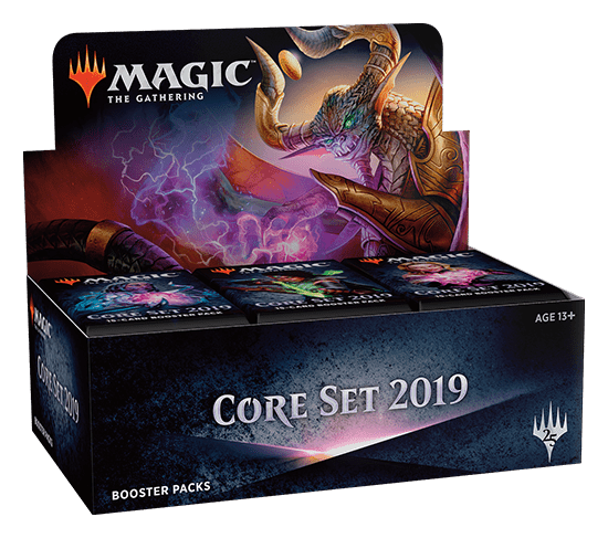 Magic the Gathering Magic 2019 Core Set Booster Box