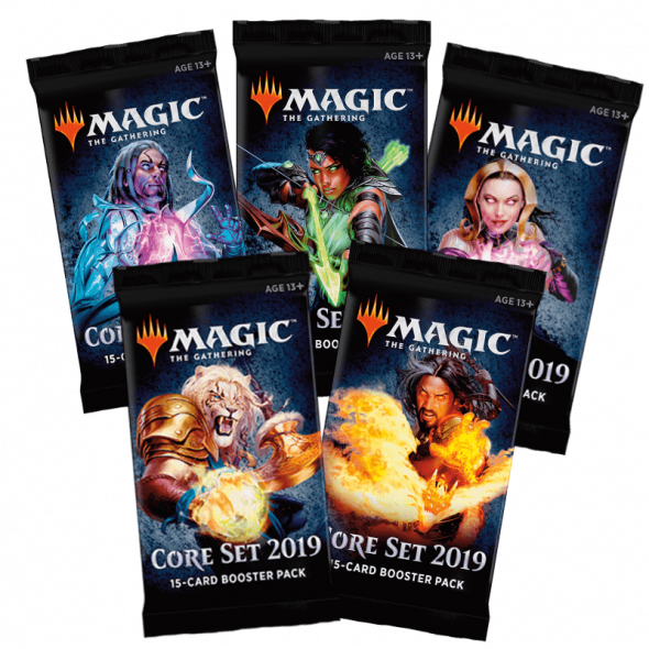 Magic the Gathering Magic 2019 Core Set Boosters