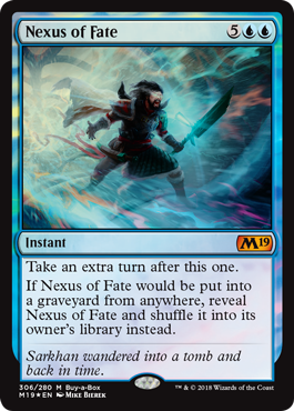 Magic 2019 Core Set Buy a Box Promo - Nexus of Fate