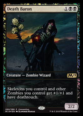Magic 2019 Core Set Convetion Promo - Death Bron