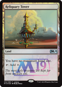 Magic 2019 Core Set League Promo - Reliquary Tower