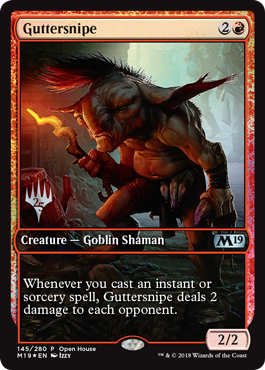 Magic 2019 Core Set Open House Promo - Guttersnipe