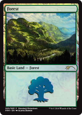 Magic 2019 Standard Showdown - Forest