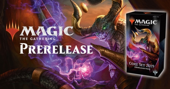 Seznam prerelease Magic 2019 Core Set
