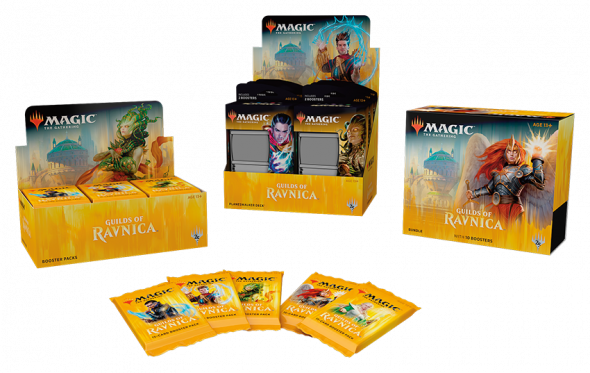 Magic the Gathering Guilds of Ravnica Products