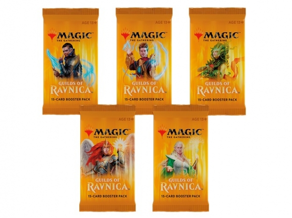 Magic the Gathering Guilds of Ravnica Boosters