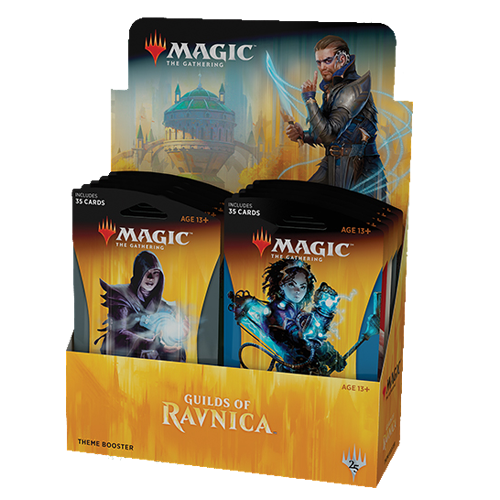 Magic the Gathering Guilds of Ravnica Theme Boosters
