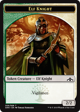 Elf-Knight Token