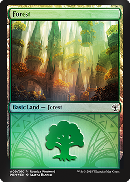 Ravnica Weekend - Forest 1
