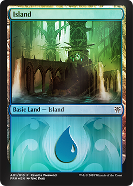 Ravnica Weekend - Island 1