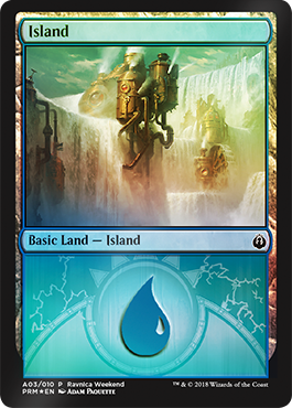 Ravnica Weekend - Island 2