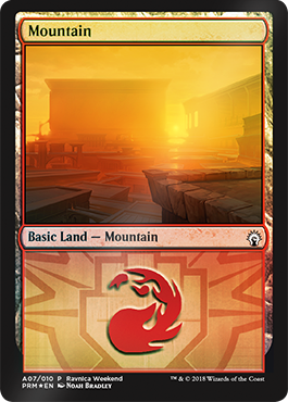 Ravnica Weekend - Mountain 2