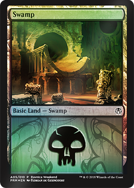 Ravnica Weekend - Swamp 2