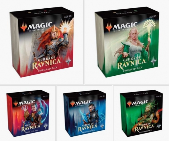 Guilds of Ravnica Prerelease Packs