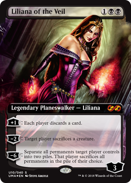 Liliana of the Veil masterpiece