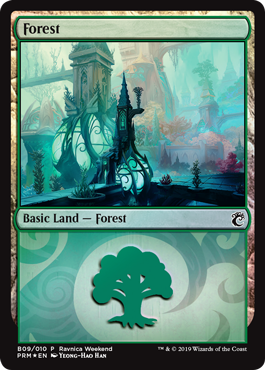 Ravnica Weekend - Forest 2