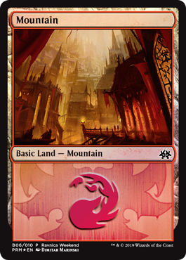 Ravnica Weekend - Mountain 1