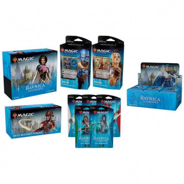 Magic the Gathering Ravnica Allegiance Products