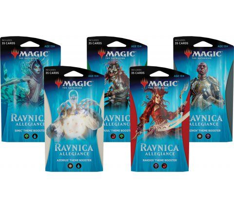 Magic the Gathering Ravnica Allegiance Theme Boosters