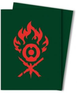 Ravnica Allegiance Sleeves - Gruul