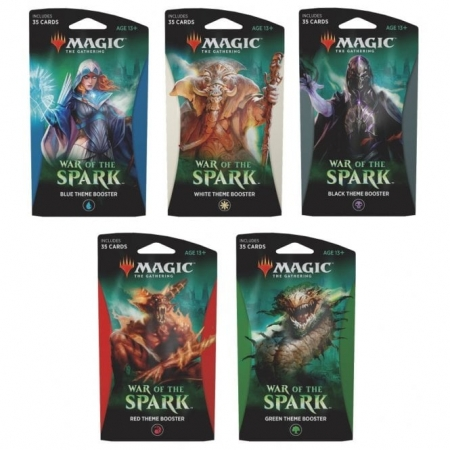 War of the Spark Theme Boosters