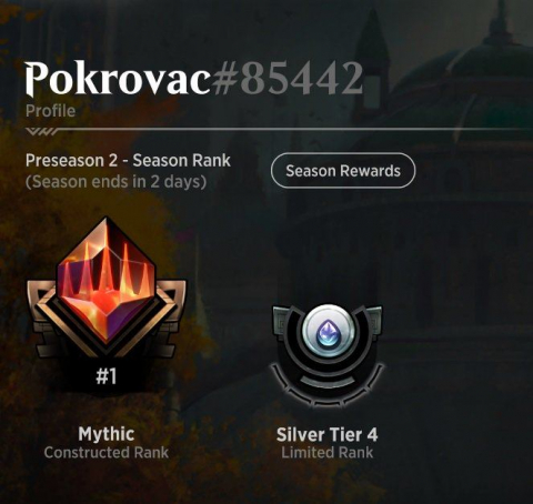Mikiho constructed mythic rank