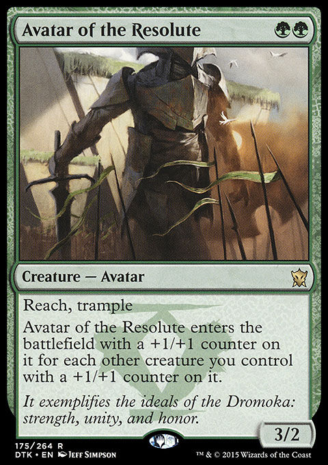 Avatar of the Resolute