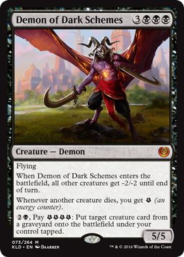 Demon of Dark Schemes