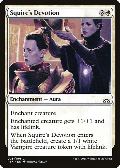 Squire's Devotion
