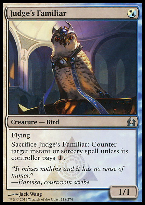 Judge's Familiar