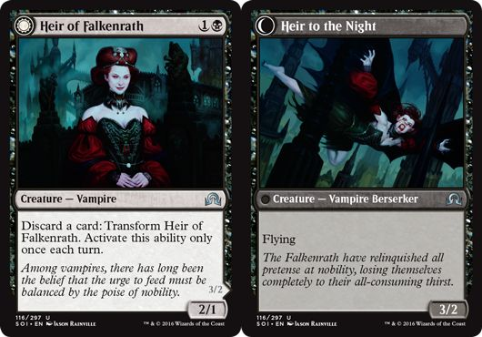 Heir of Falkenrath/Heir to the Night